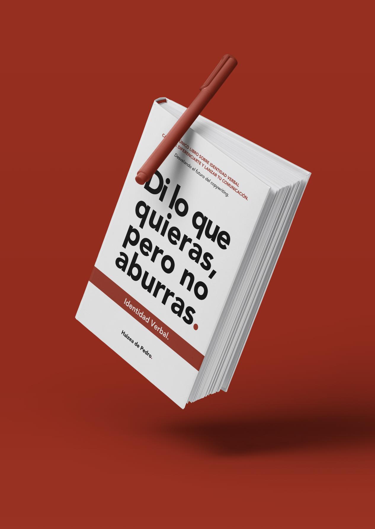 Identidad Verbal Copywriting Libro Haizea de Pedro